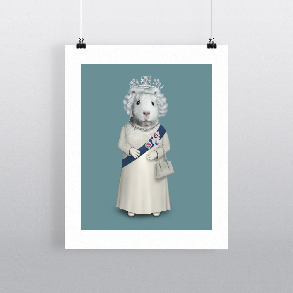 HRH Pets Rock 11' by 14' Art Print
