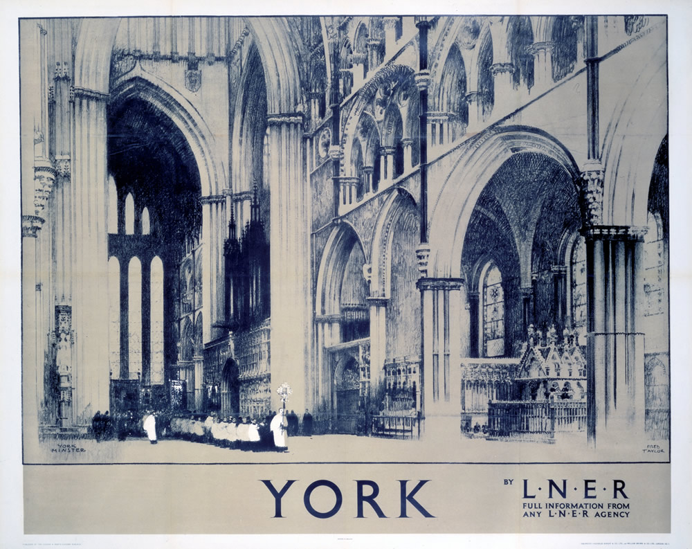 York by LNER Art Print  Art Print