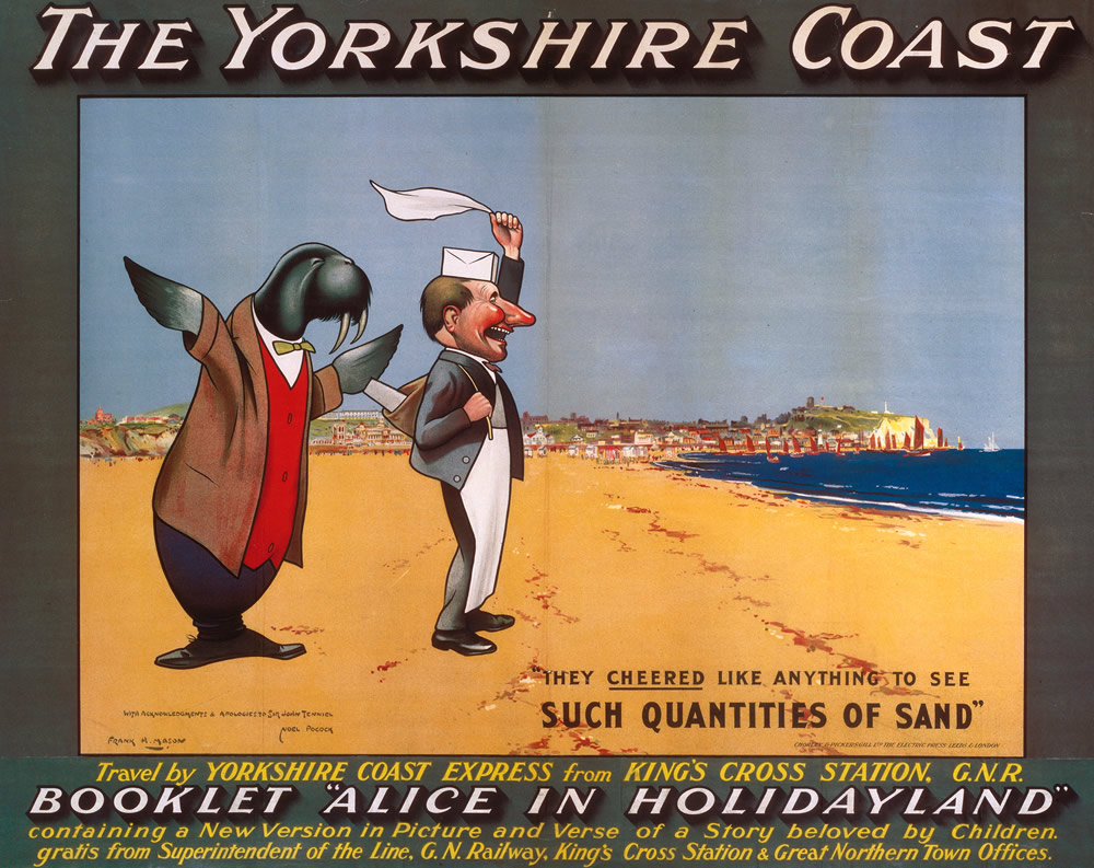 The Yorkshire Coast Art Print