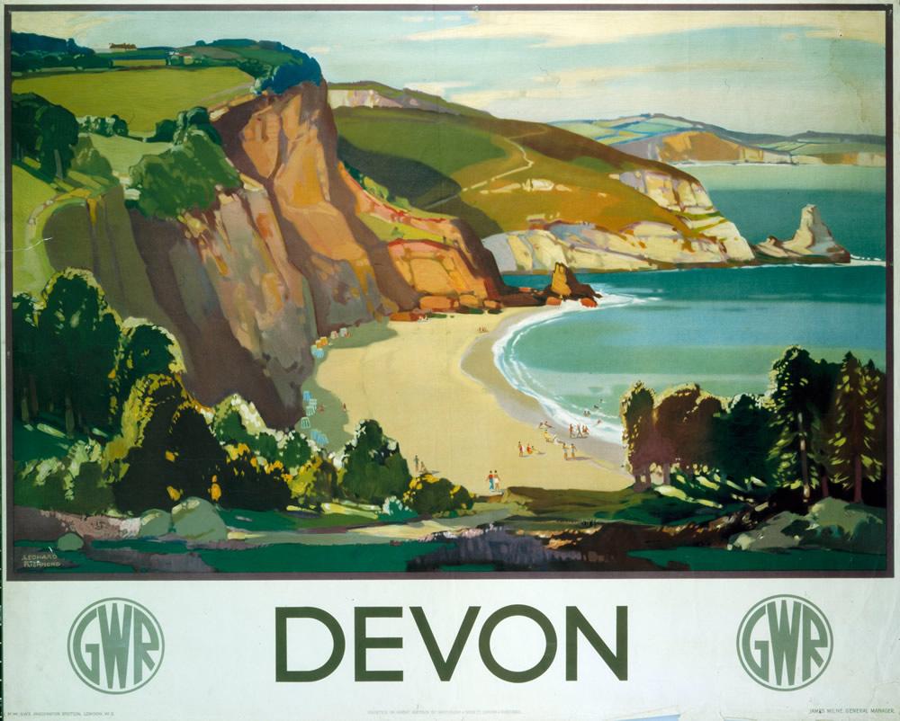 Devon GWR Art Print