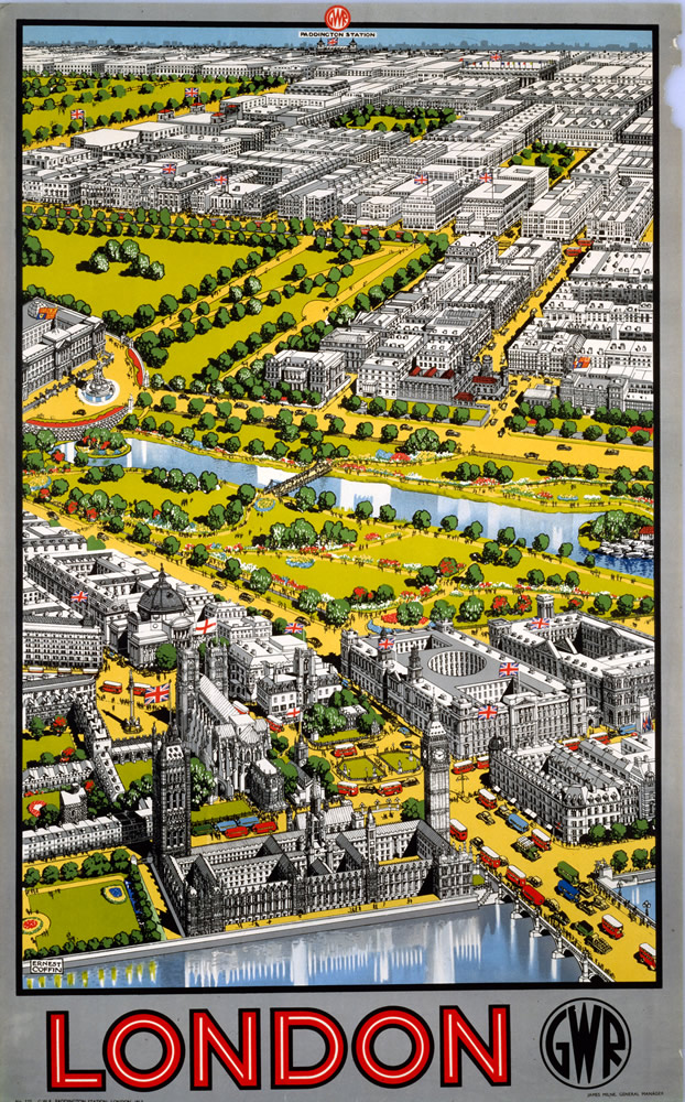 London GWR Art Print