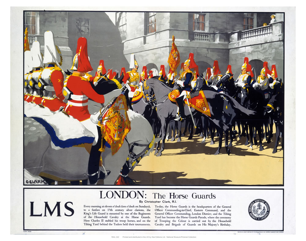 London: The Horse Guards Art Print  Art Print