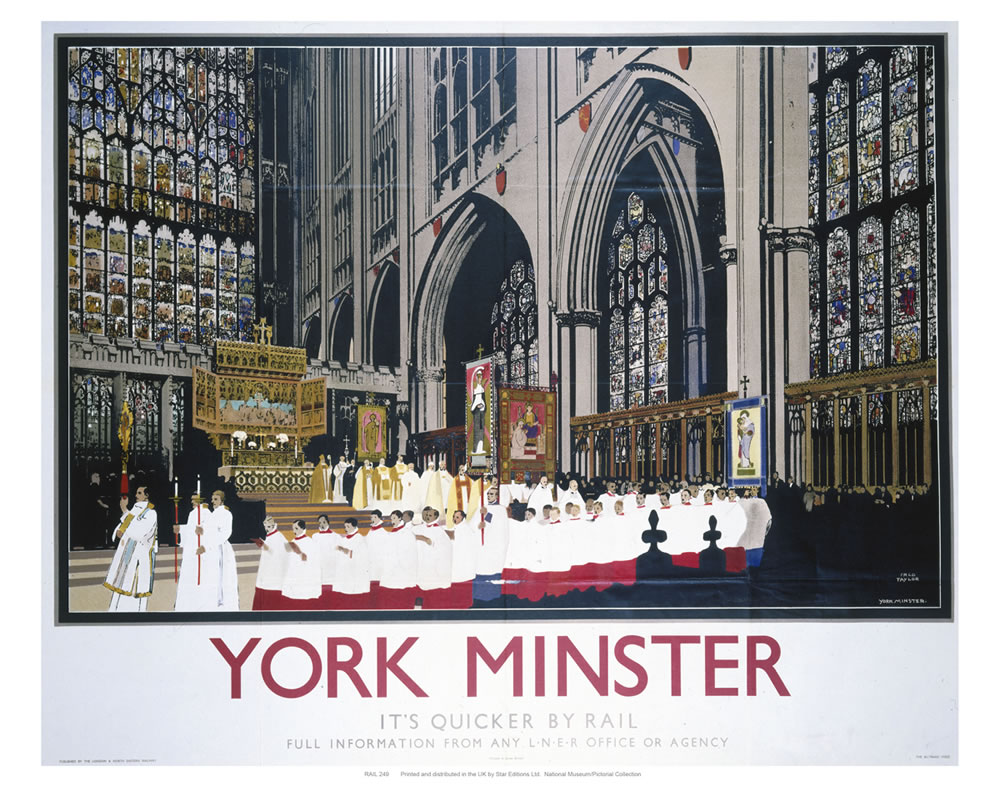 York Minster Choir Art Print