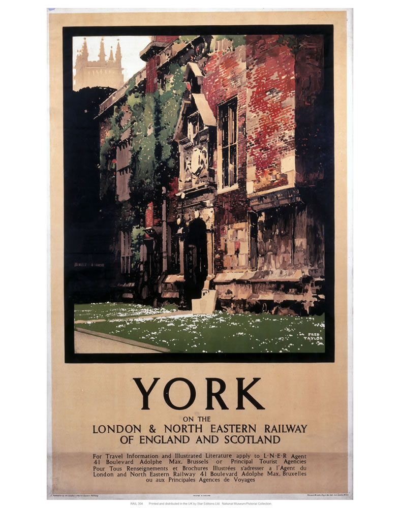 York building Art Print  Art Print