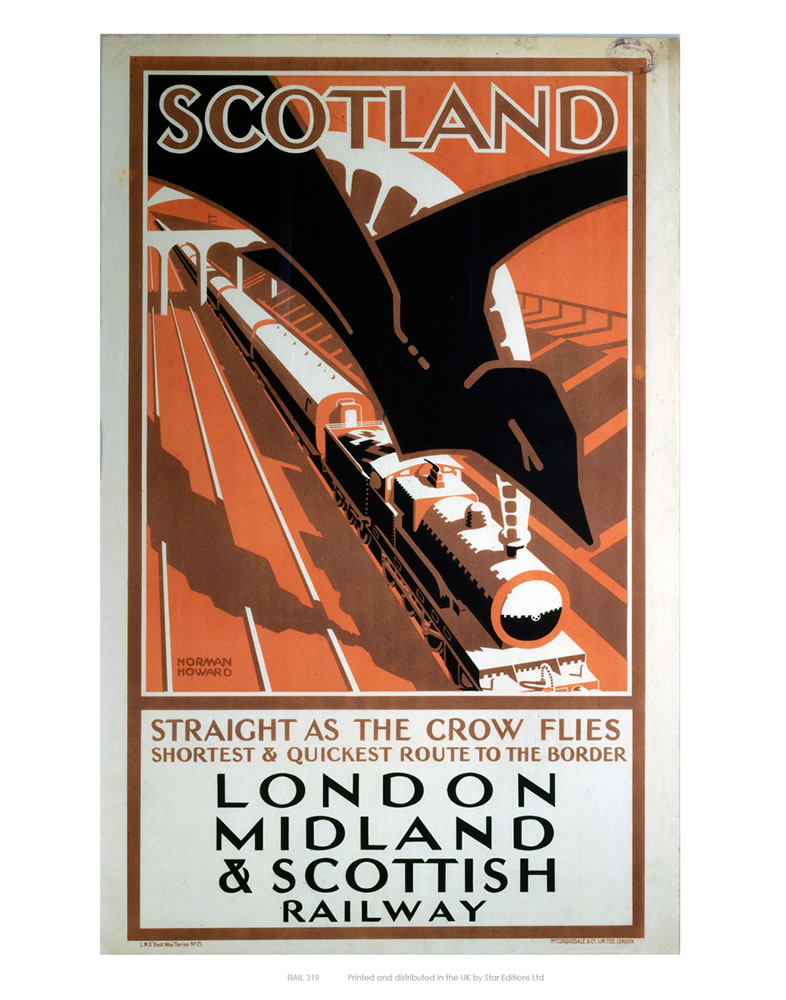 London Midland and Scotland Railway Art Print