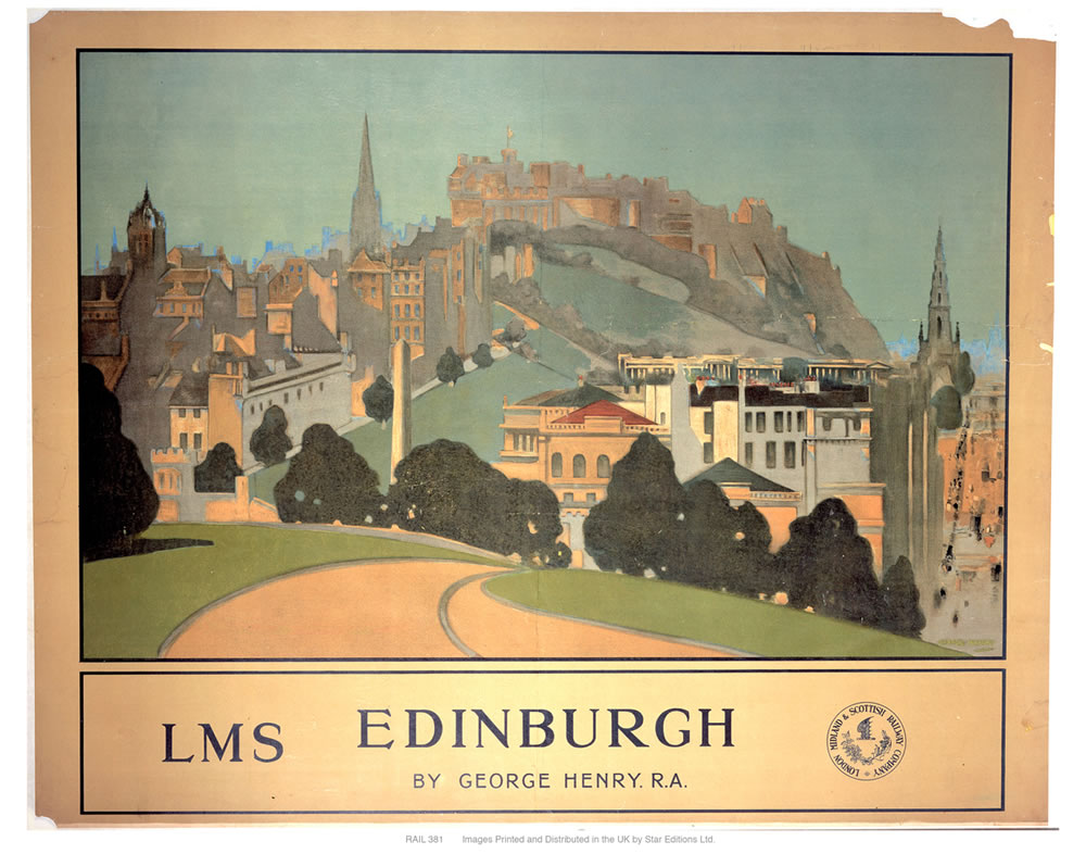 Edinburgh LMS Art Print