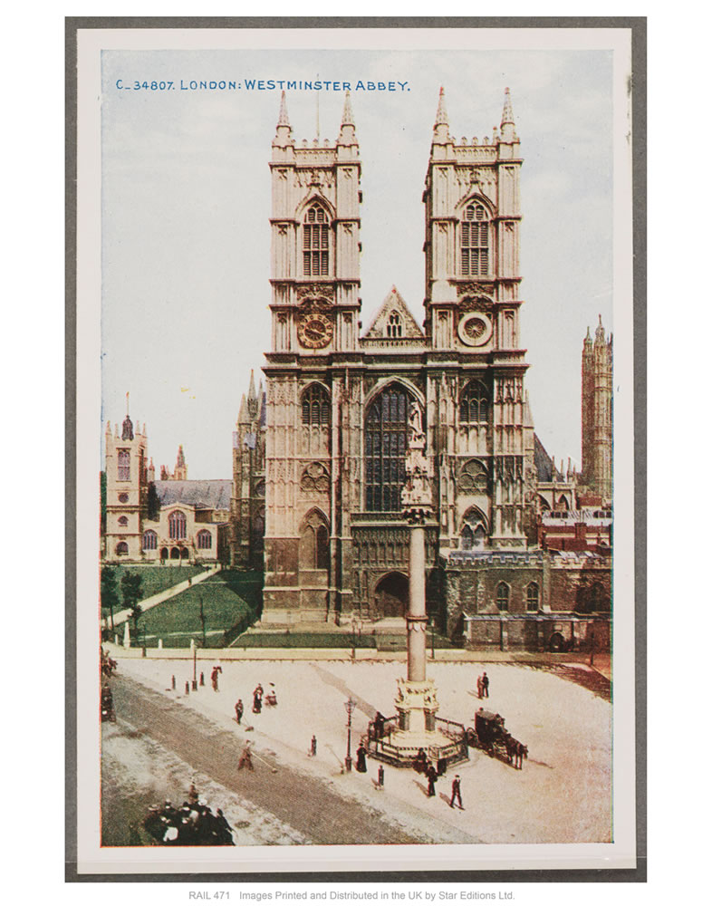 London, Westminster Abbey Art Print