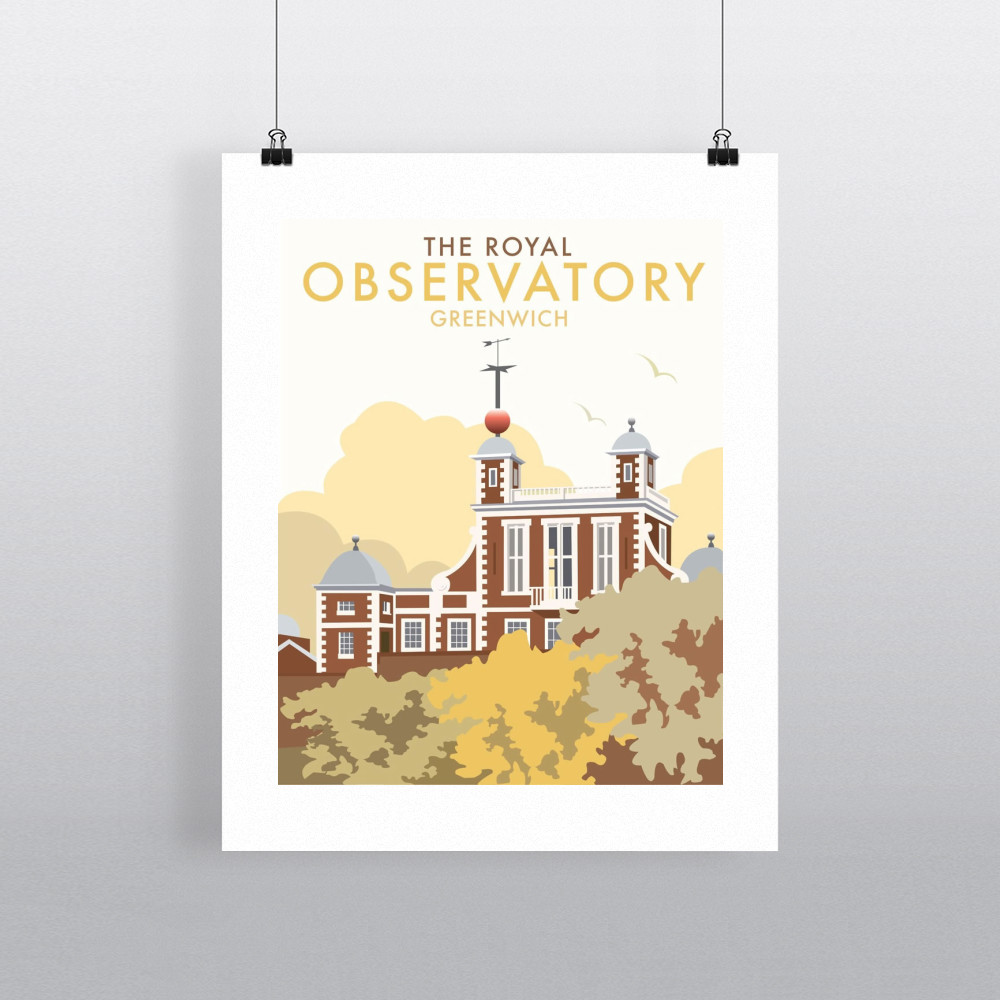 Royal Observatory Art Print