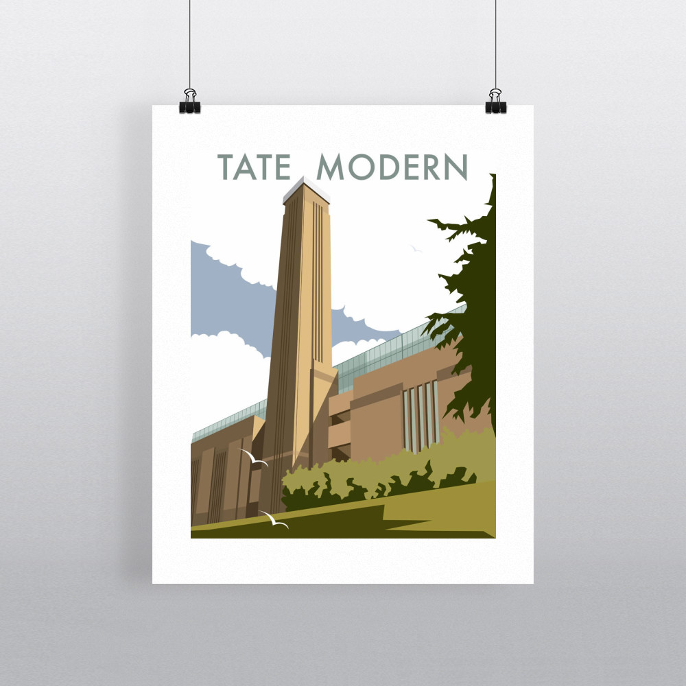The Tate Modern Art Print
