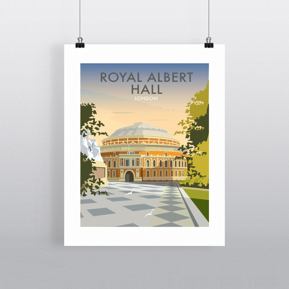 Albert Hall Art Print