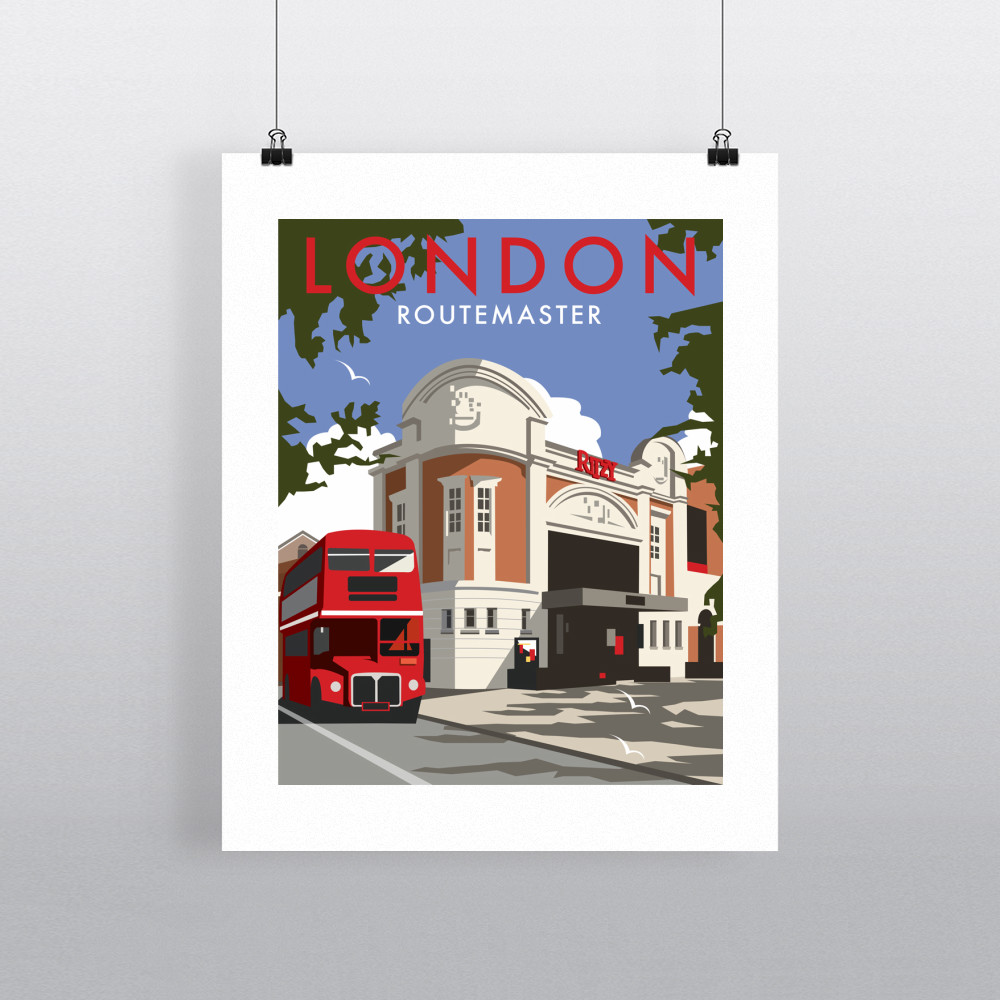 London Routemaster Ritzy Art Print