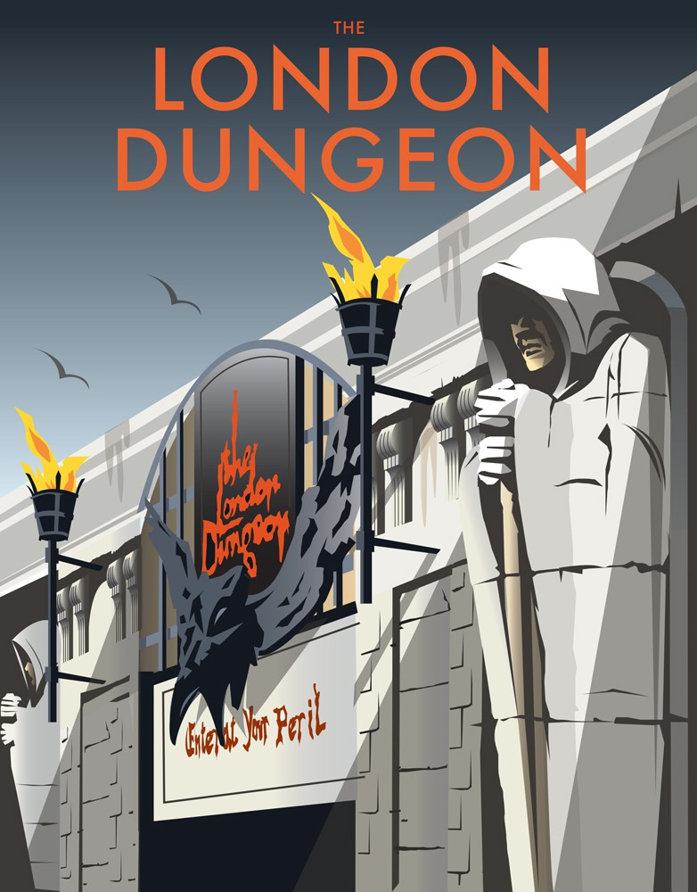 London Dungeon Art Print