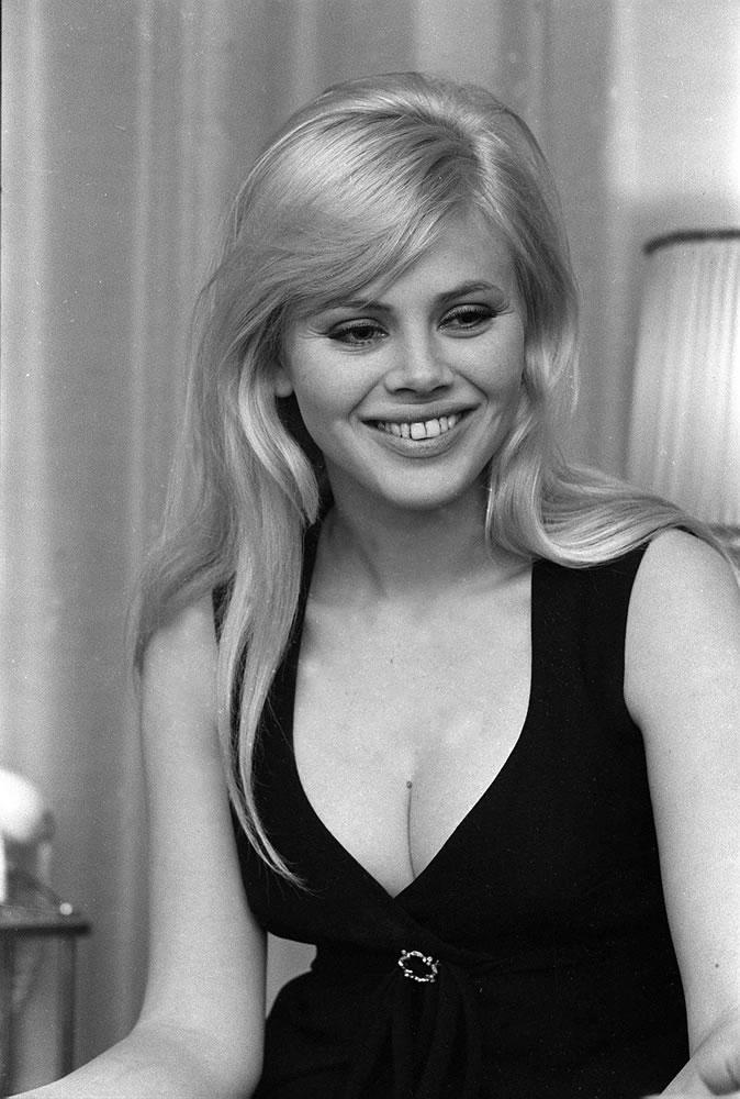 Britt Ekland actress