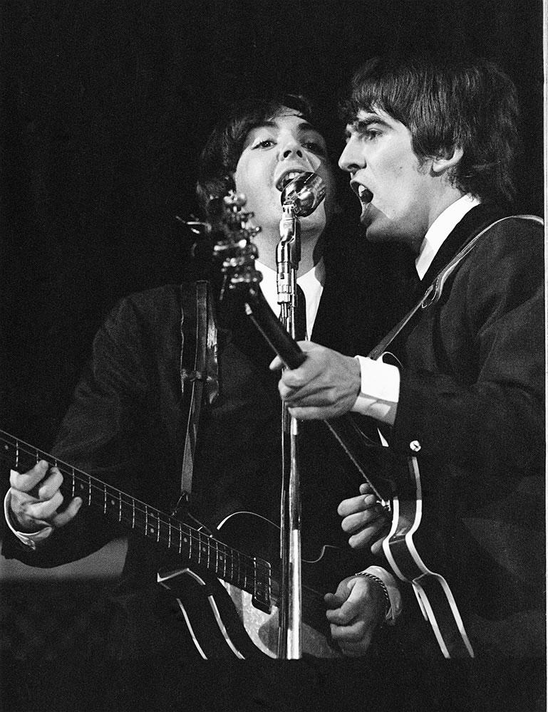Pop Group The Beatles August 1964 in.. Art Print