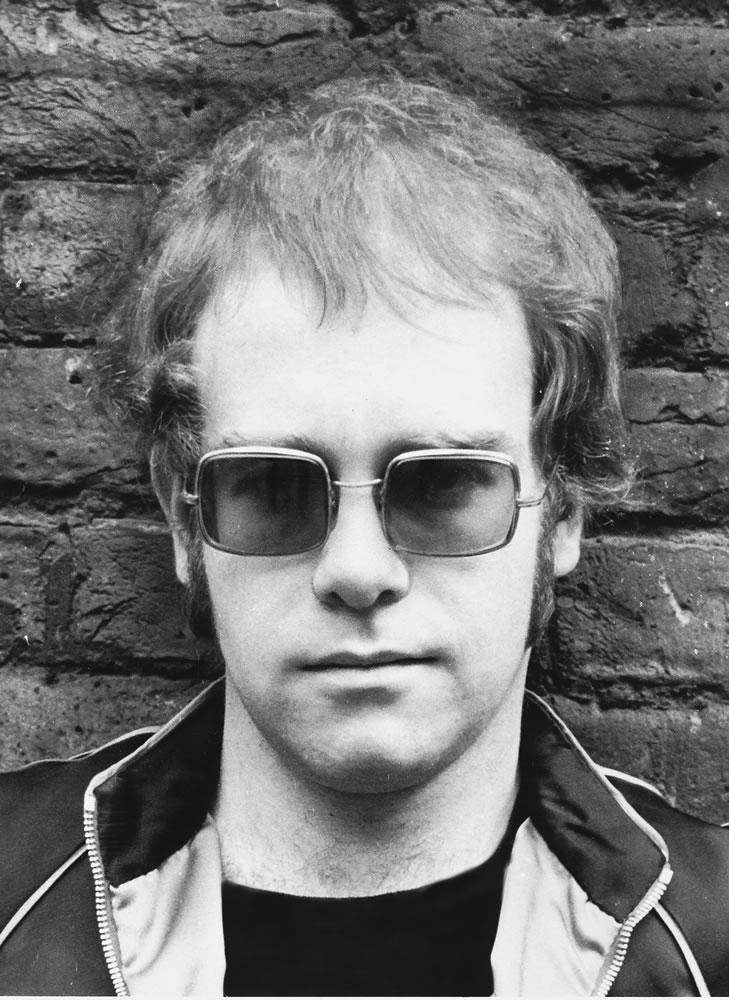 Elton John Art Print
