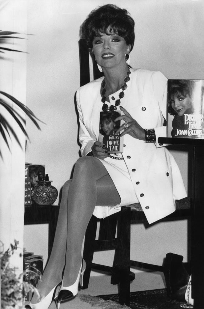 Joan Collins Art Print