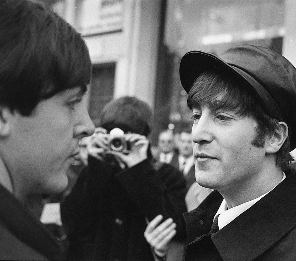 The Beatles 1964 John Lennon and Paul.. Art Print