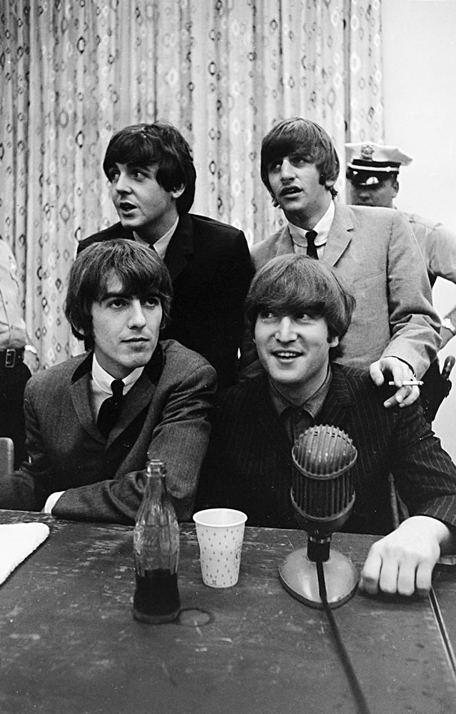 1964 The Beatles announce changes to.. Art Print