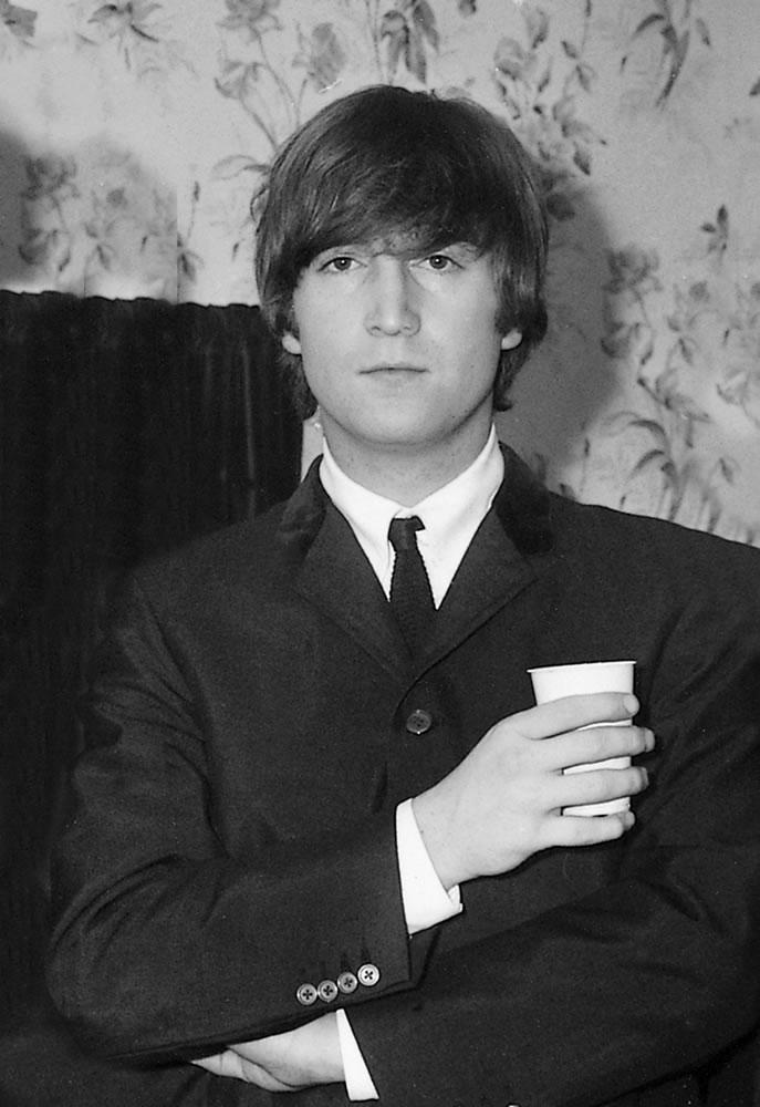 Beatles - John Lennon 1964 Art Print