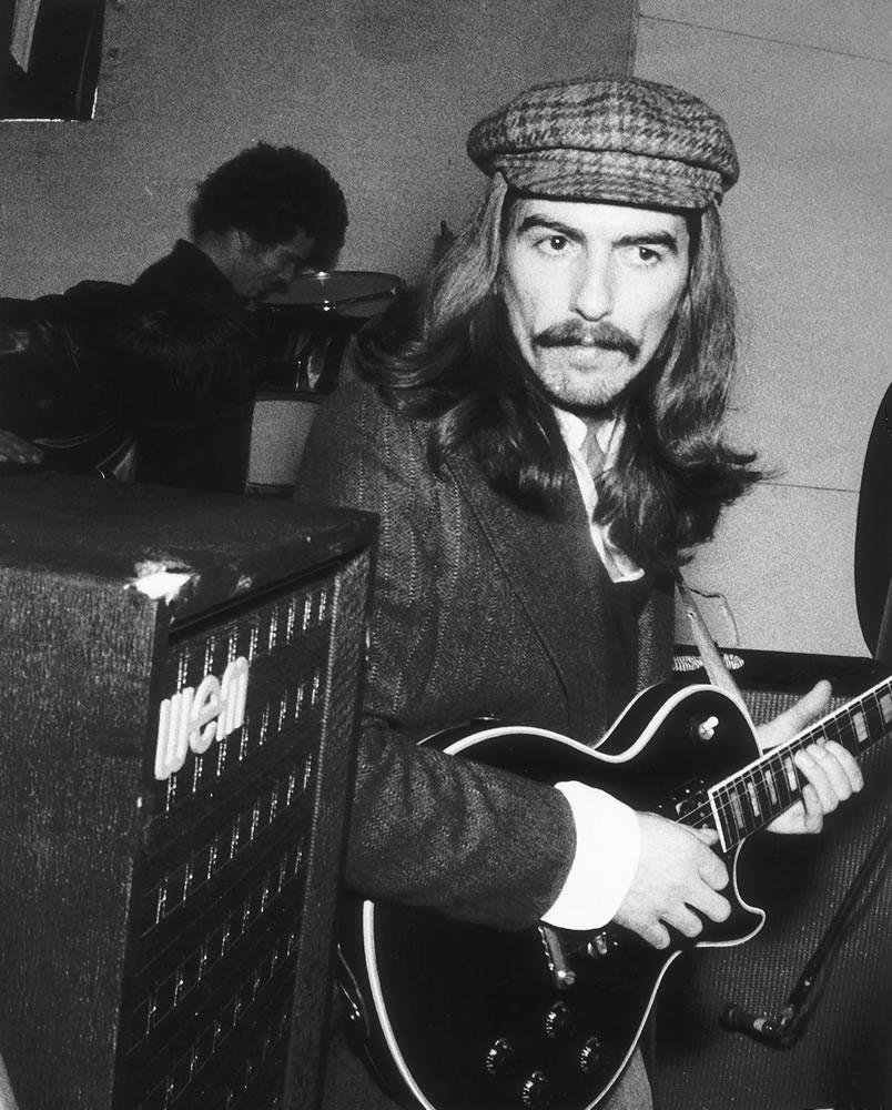 George Harrison December 1969 Art Print