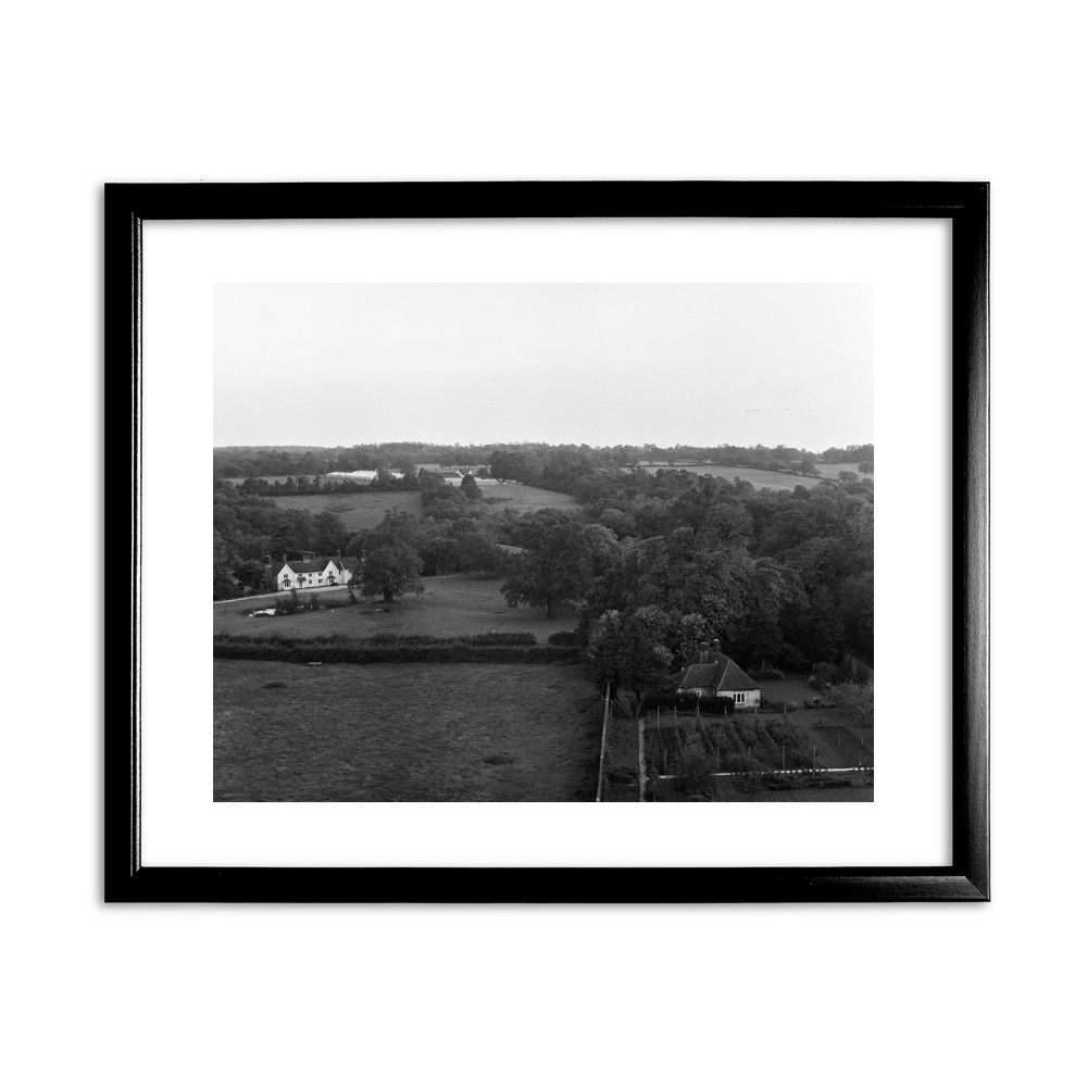 Stratton's Folly in Little Berkhamsted, 1969. Black Framed Art Print