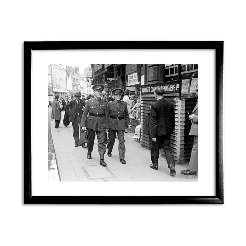 16th Viscount Gort, Chief of the Imperial General Staff, circa 1940 Black Framed Print Black Framed Art Print