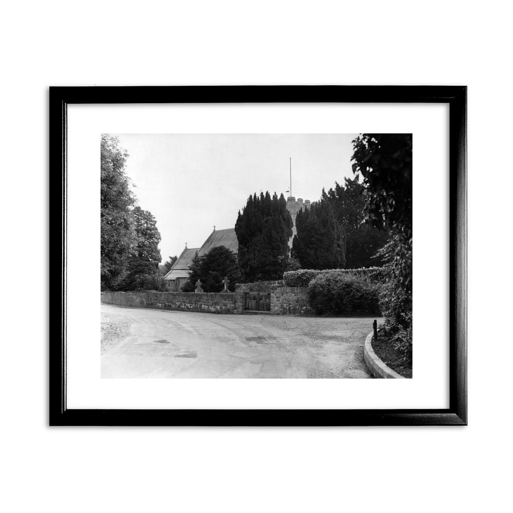 Wenvoe, 2081 Black Framed Print Black Framed Art Print