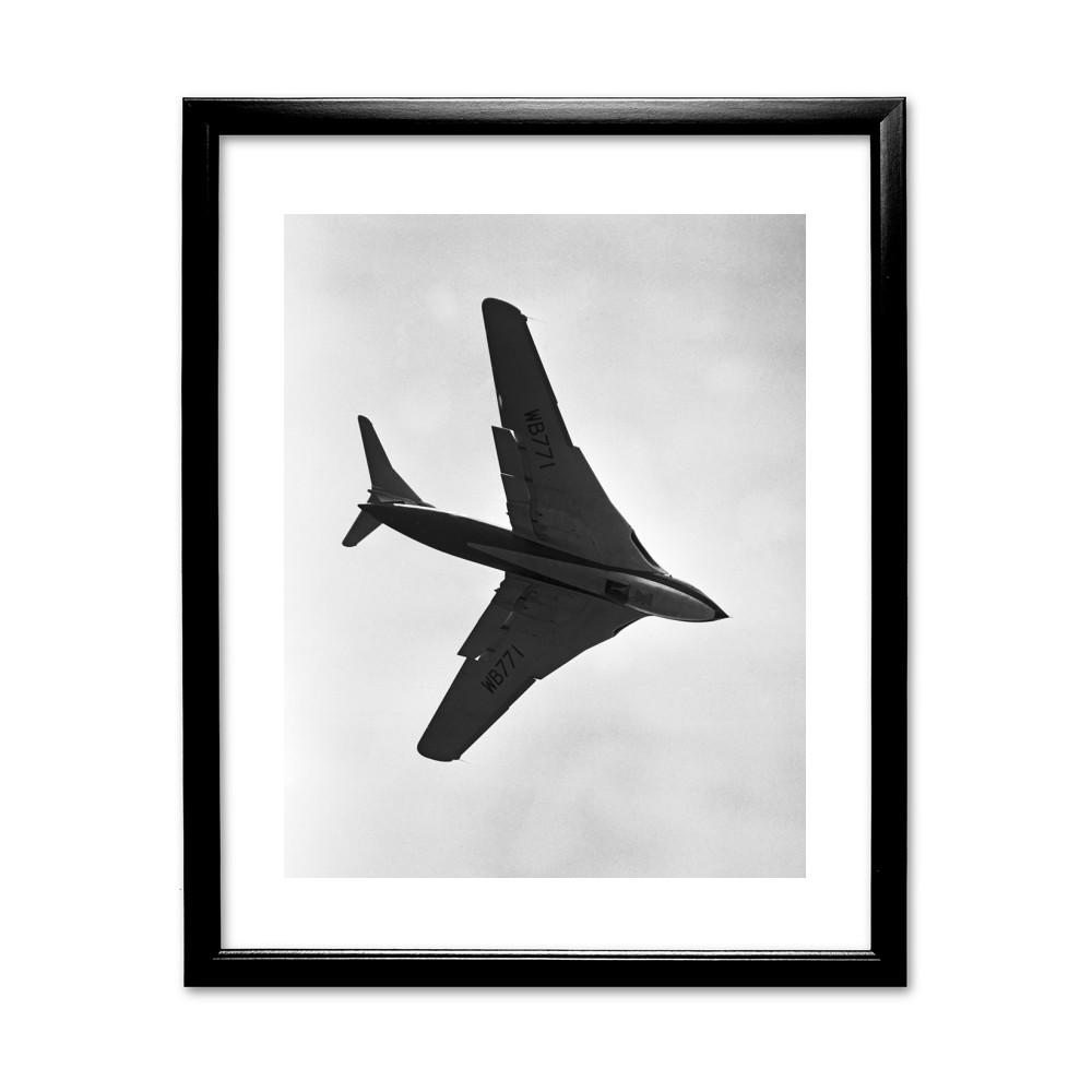 1953 Farnborough Air Show Black Framed Print Black Framed Art Print