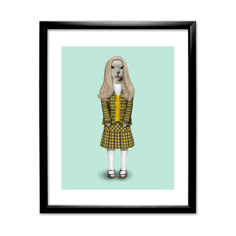 High School Pets Rock 11' by 14' Black Framed Art Print
