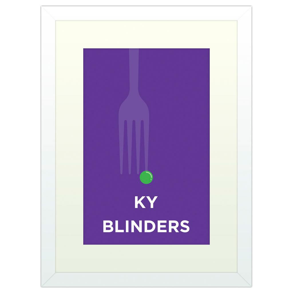 Peaky Blinders - White Framed Art Print (40x30cm) White Framed Art Print