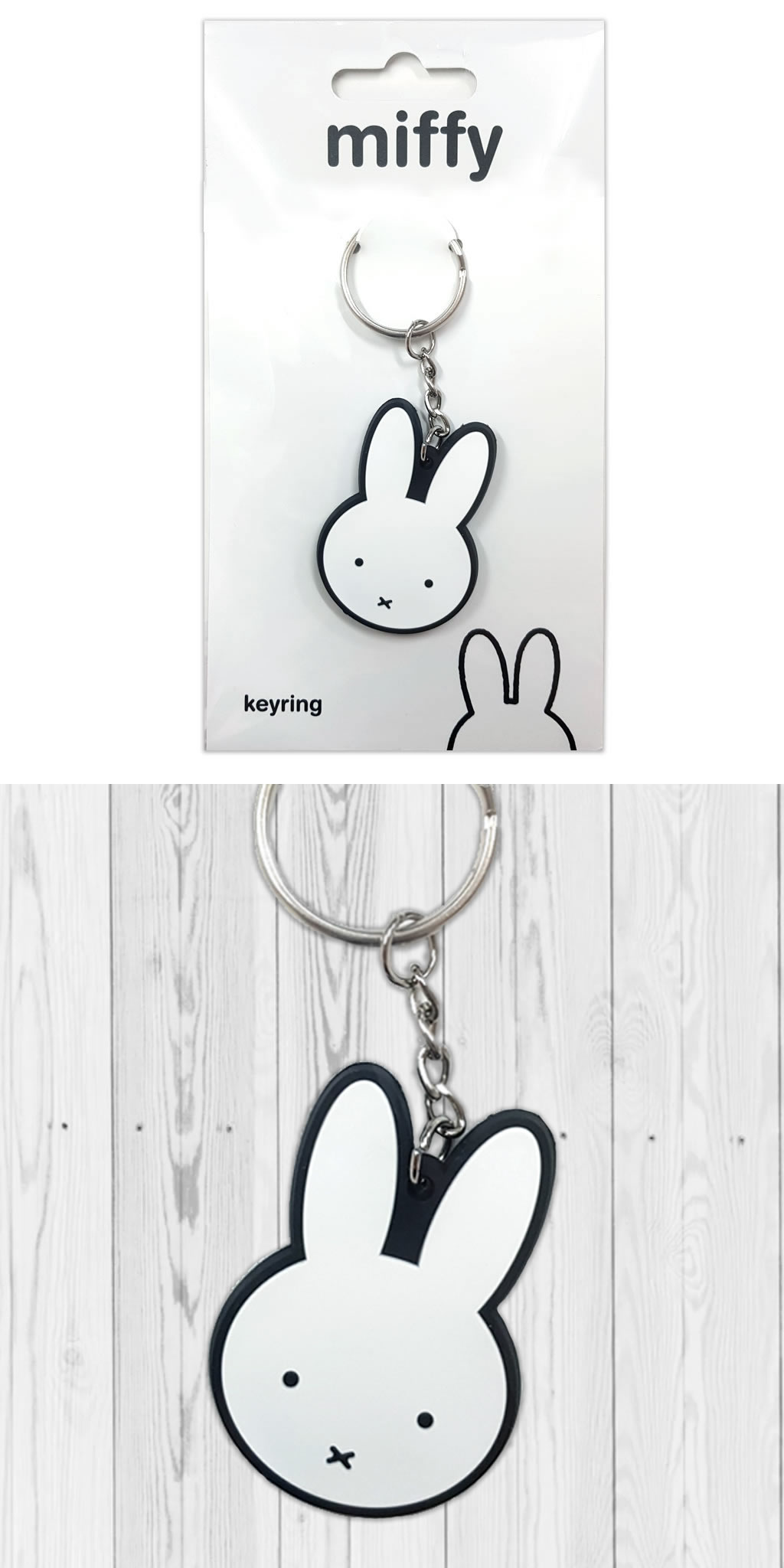 Miffy Rubber Keyring
