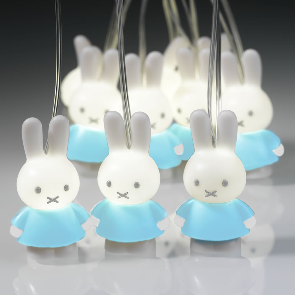 Miffy String 'Fairy' lights (Blue)