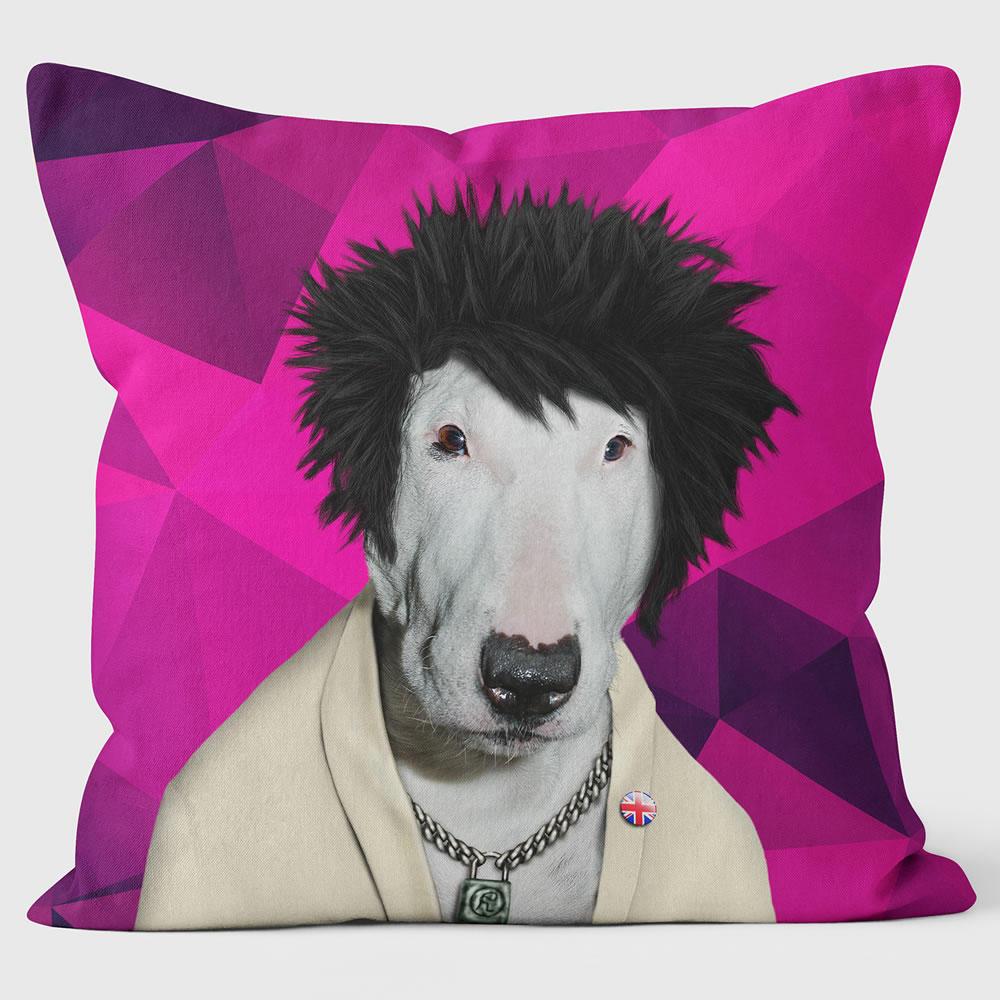 Punk Pets Rock Premium Cushion