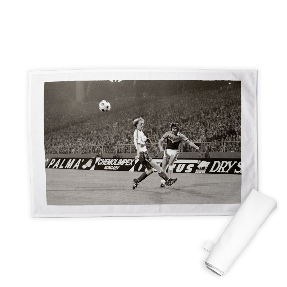 European Cup Winners Cup Final at the Heysel Stadium, May 1976. Anderlecht.. Tea Towel