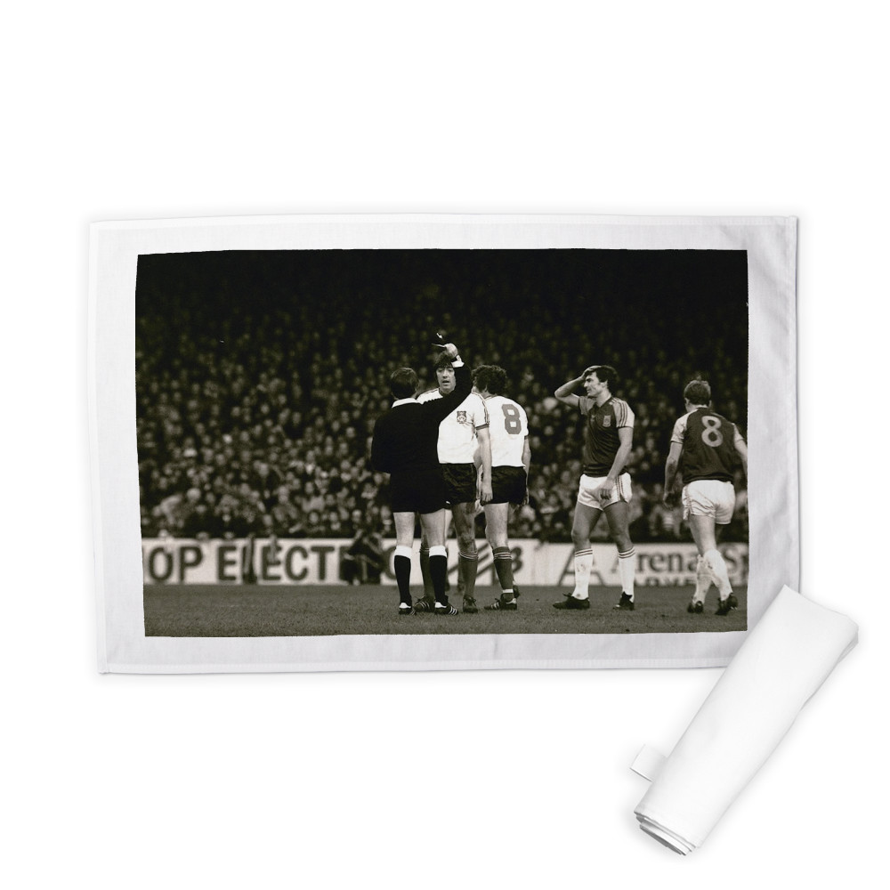 FA Cup 3rd round at Upton Park, January 1981. West Ham United v Wrexham. A.. Tea Towel