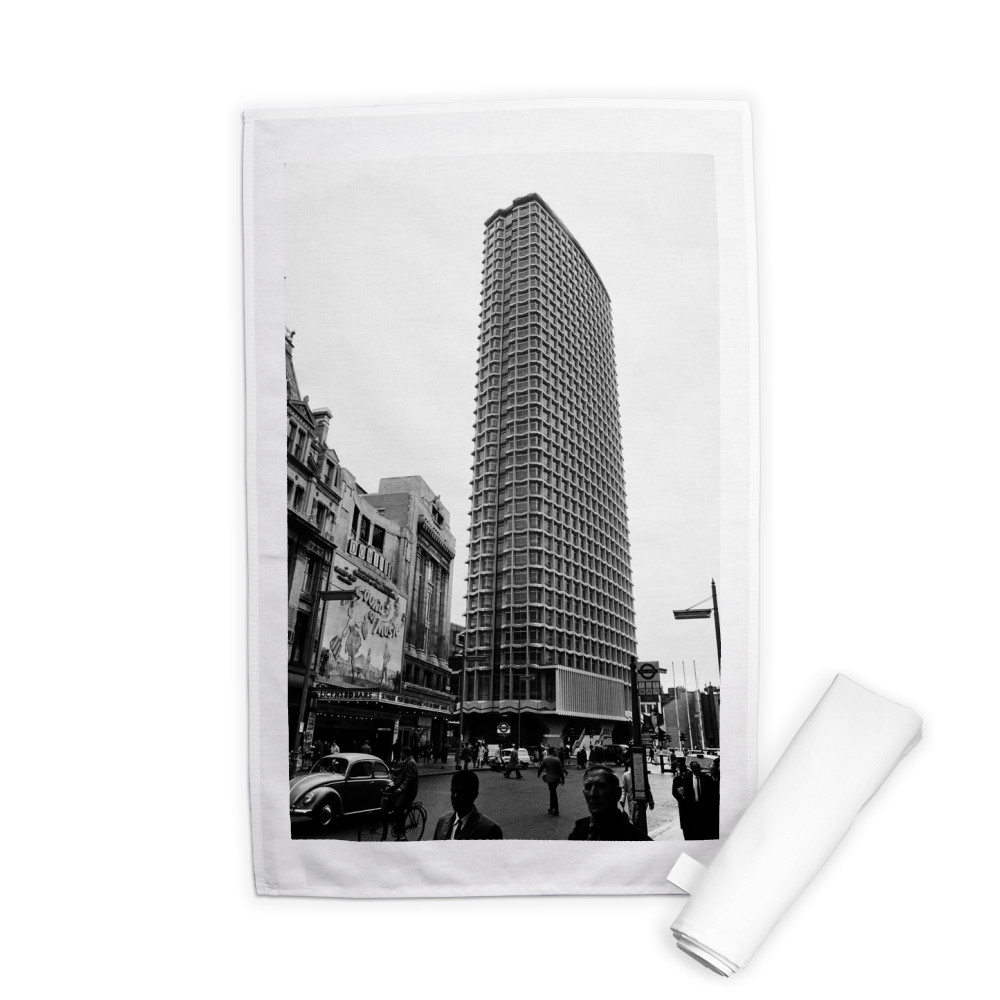 Centre Point, 101-103 New Oxford.. Tea Towel