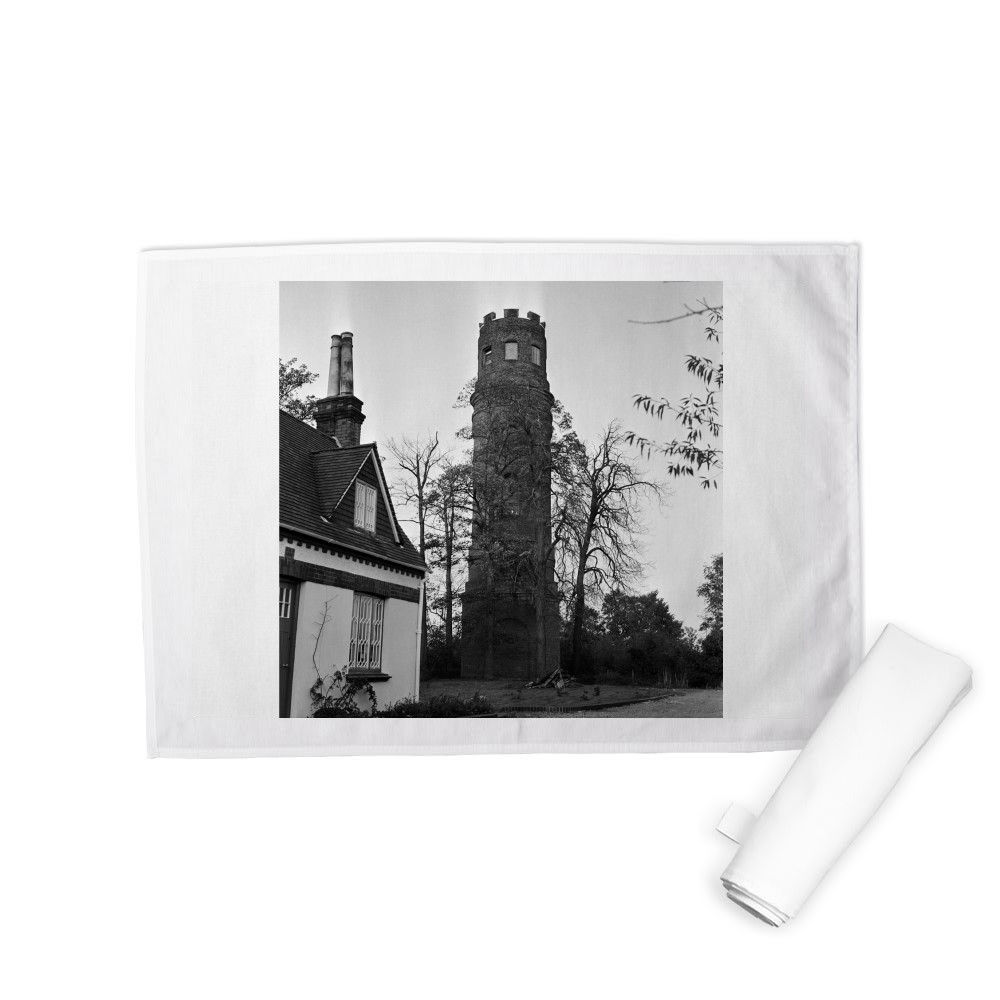 Stratton's Folly in Little Berkhamsted, 1969. Tea Towel