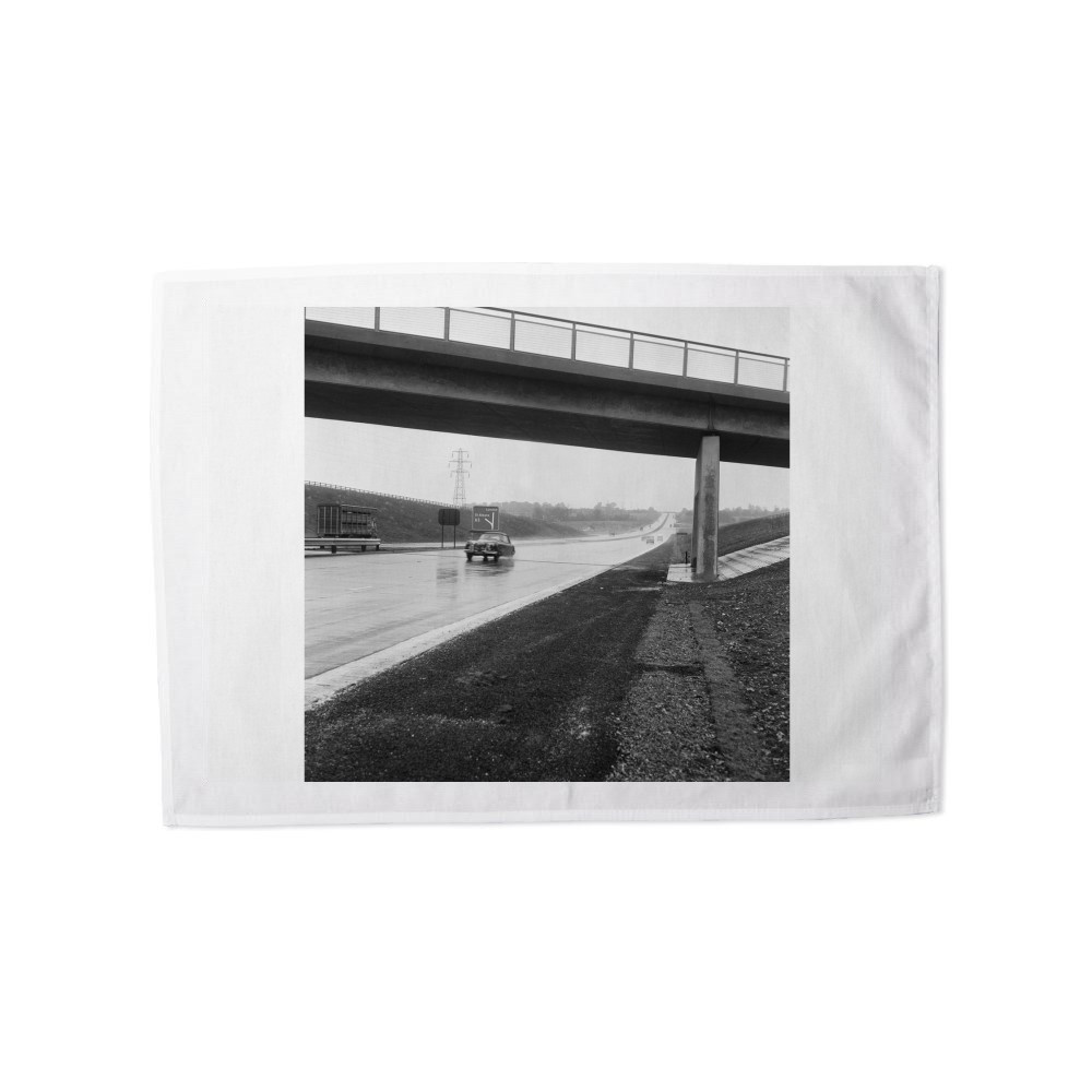 The M1 Motorway Tea Towel Tea Towel