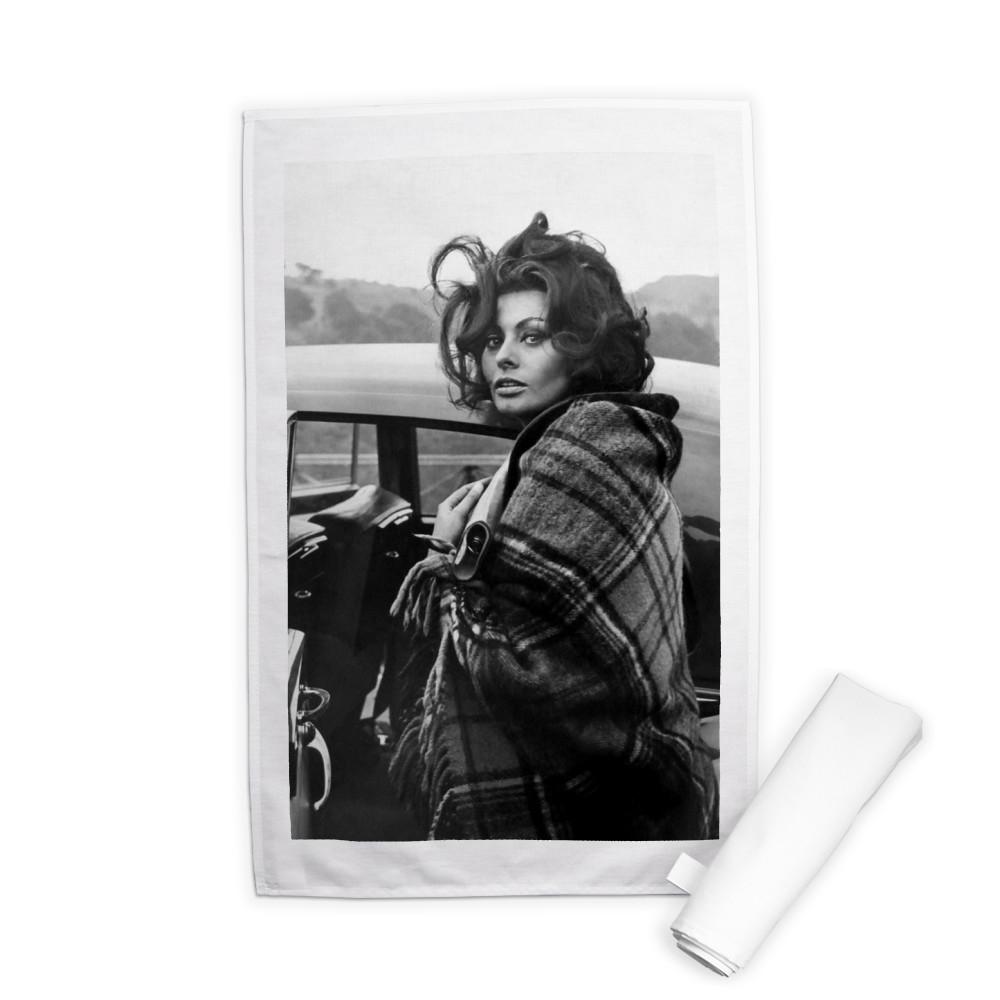 Sophia Loren  Tea Towel