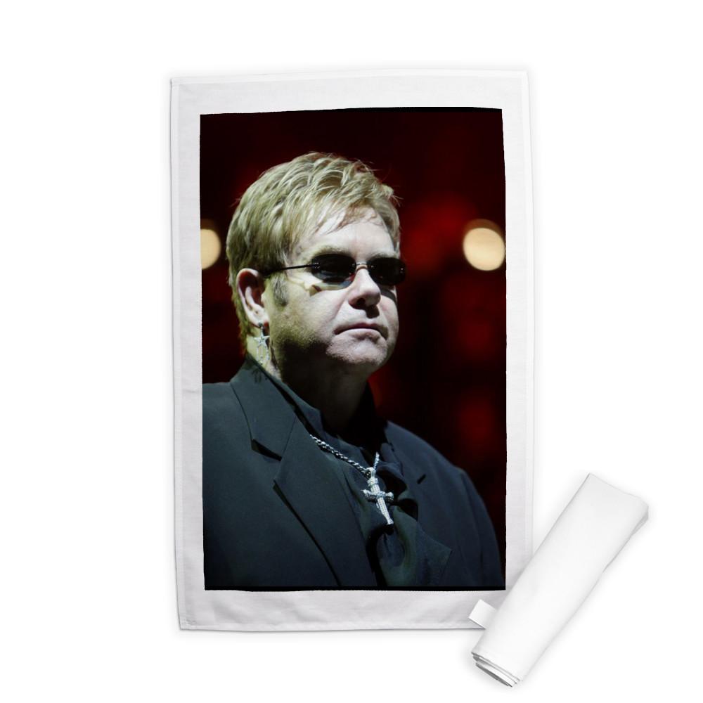 Elton John Tea Towel