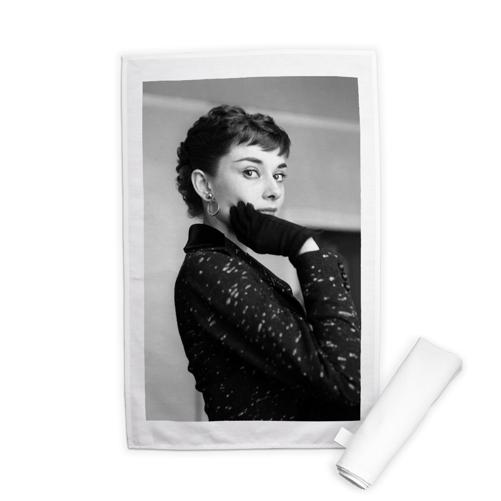 Audrey Hepburn Tea Towel