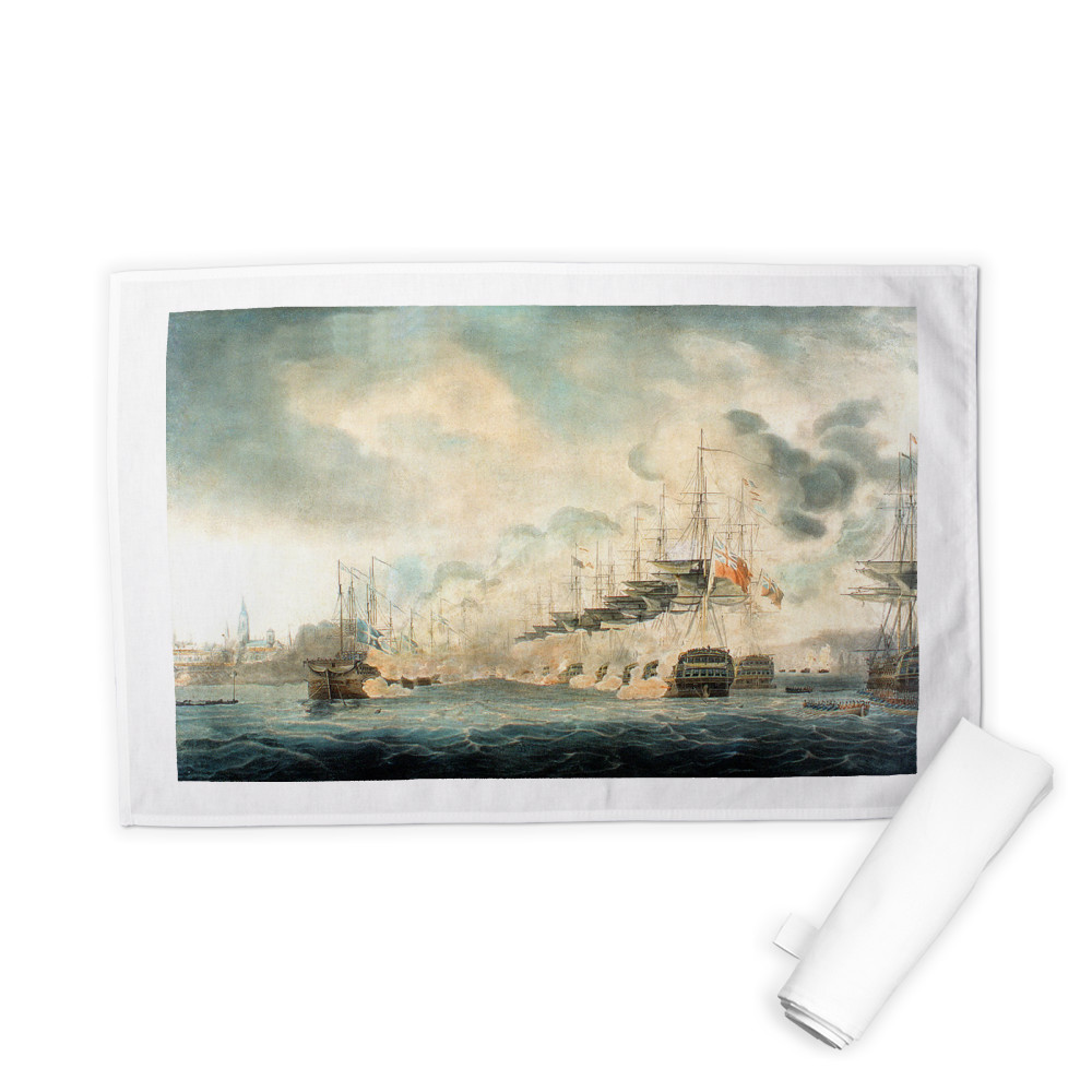 The Battle of Copenhagen Tea Towel