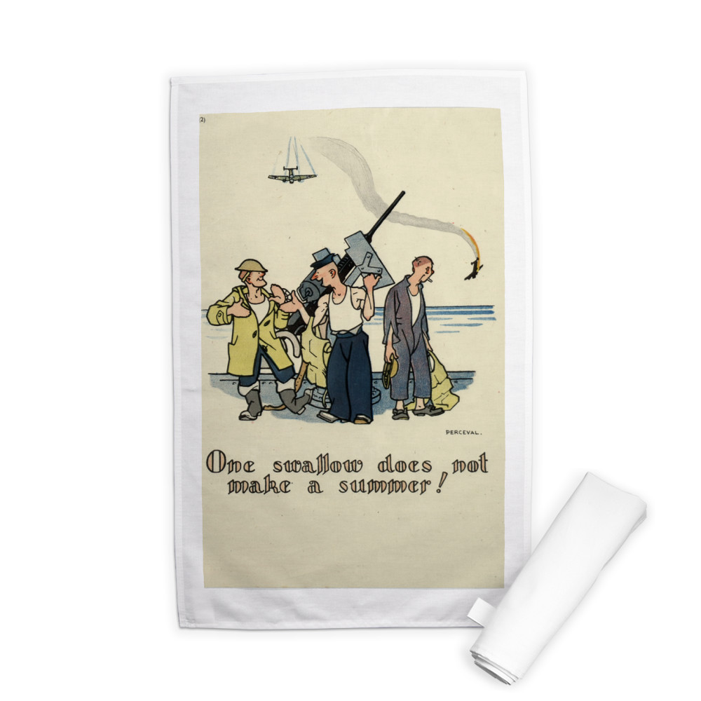 One Swallow... Tea Towel