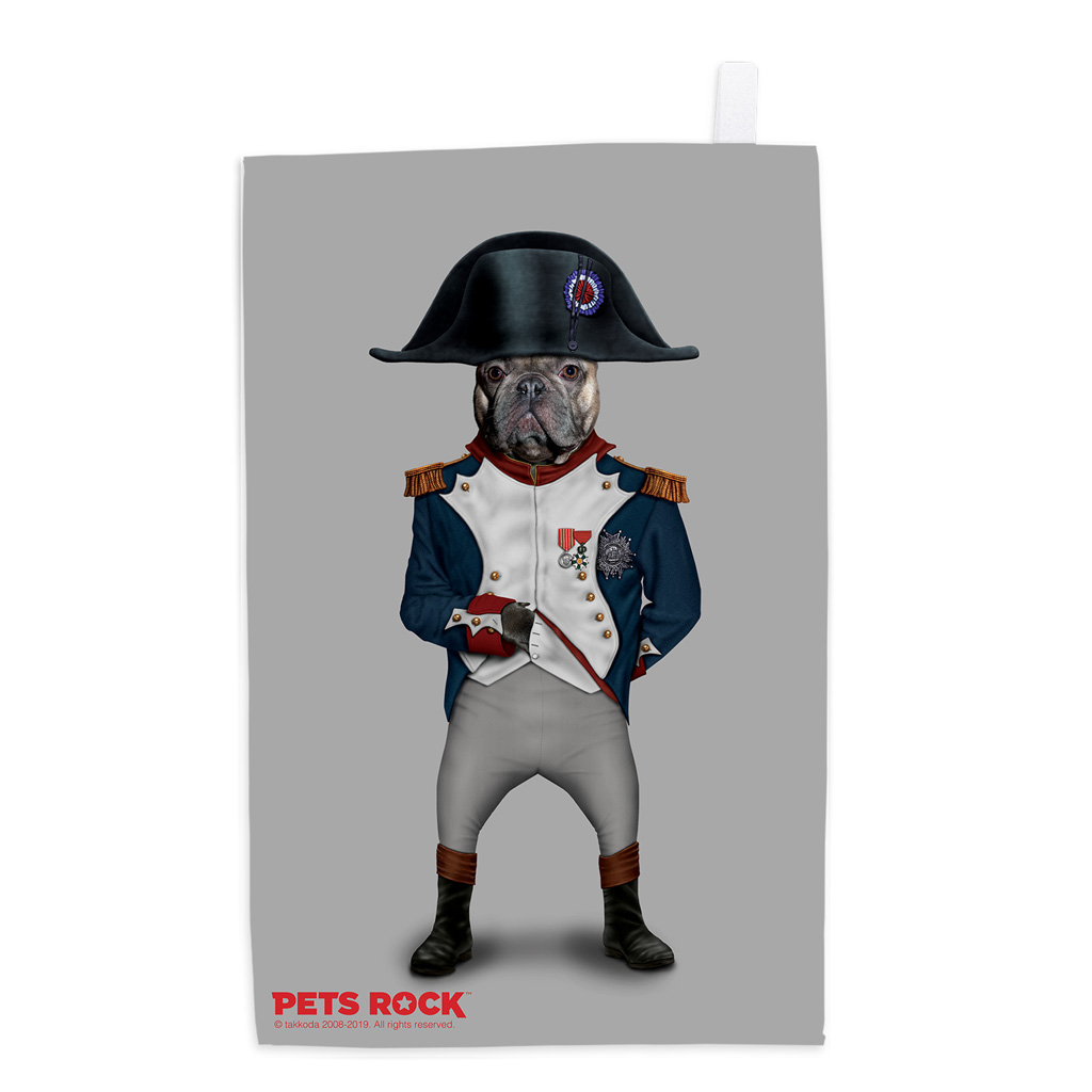Napoleon Pets Rock Tea Towel