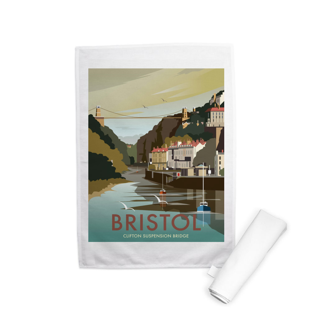 Bristol Tea Towel