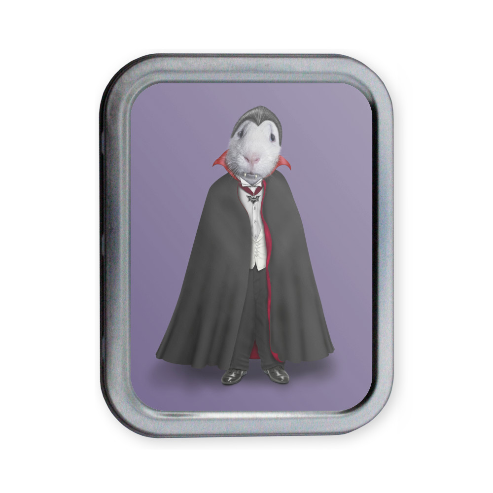 Dracula Pets Rock Collectors Tin