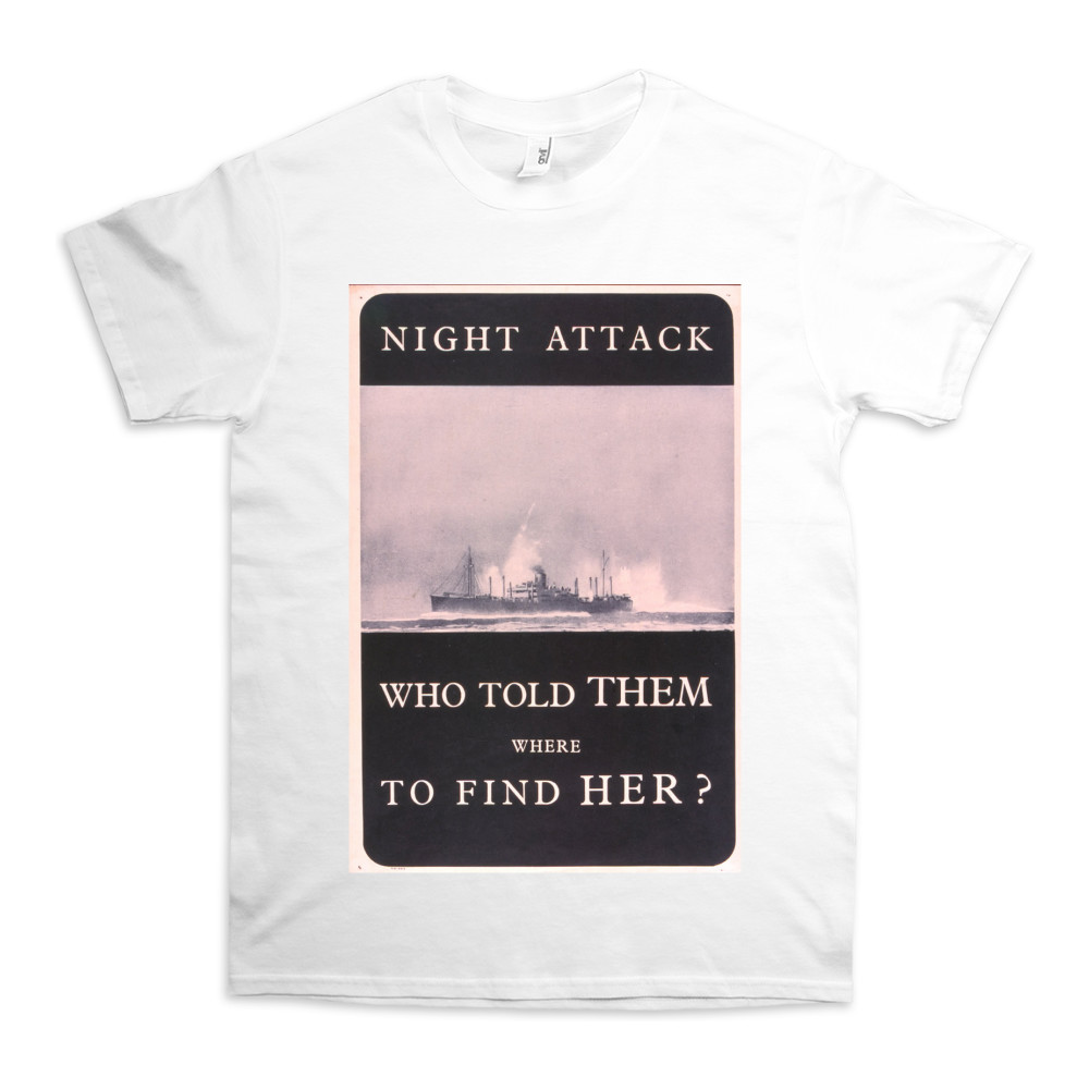 Night Attack - Who Told Them Where to Find Her? TShirt