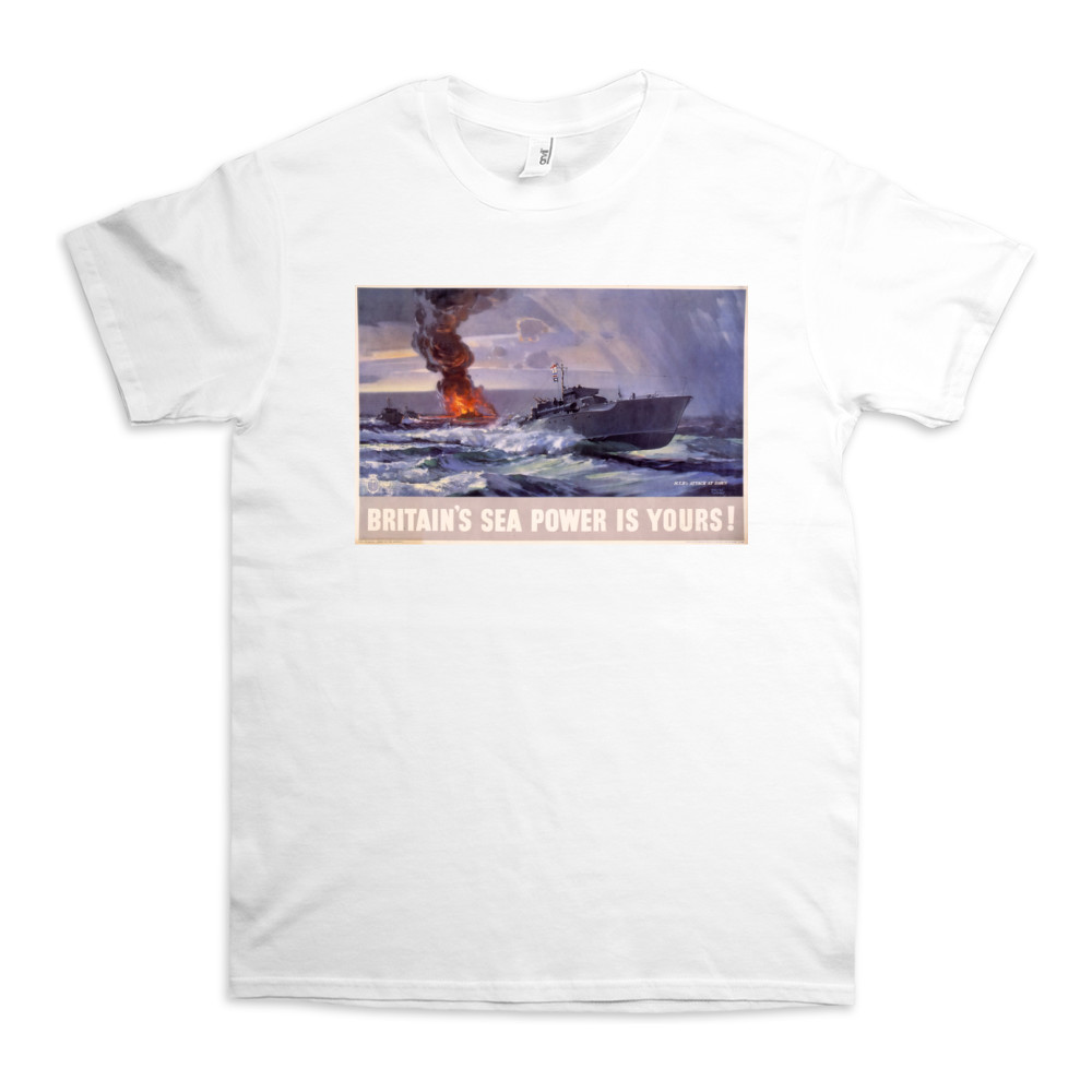 Britain's Sea Power is Yours! MTB's Attack at Dawn TShirt