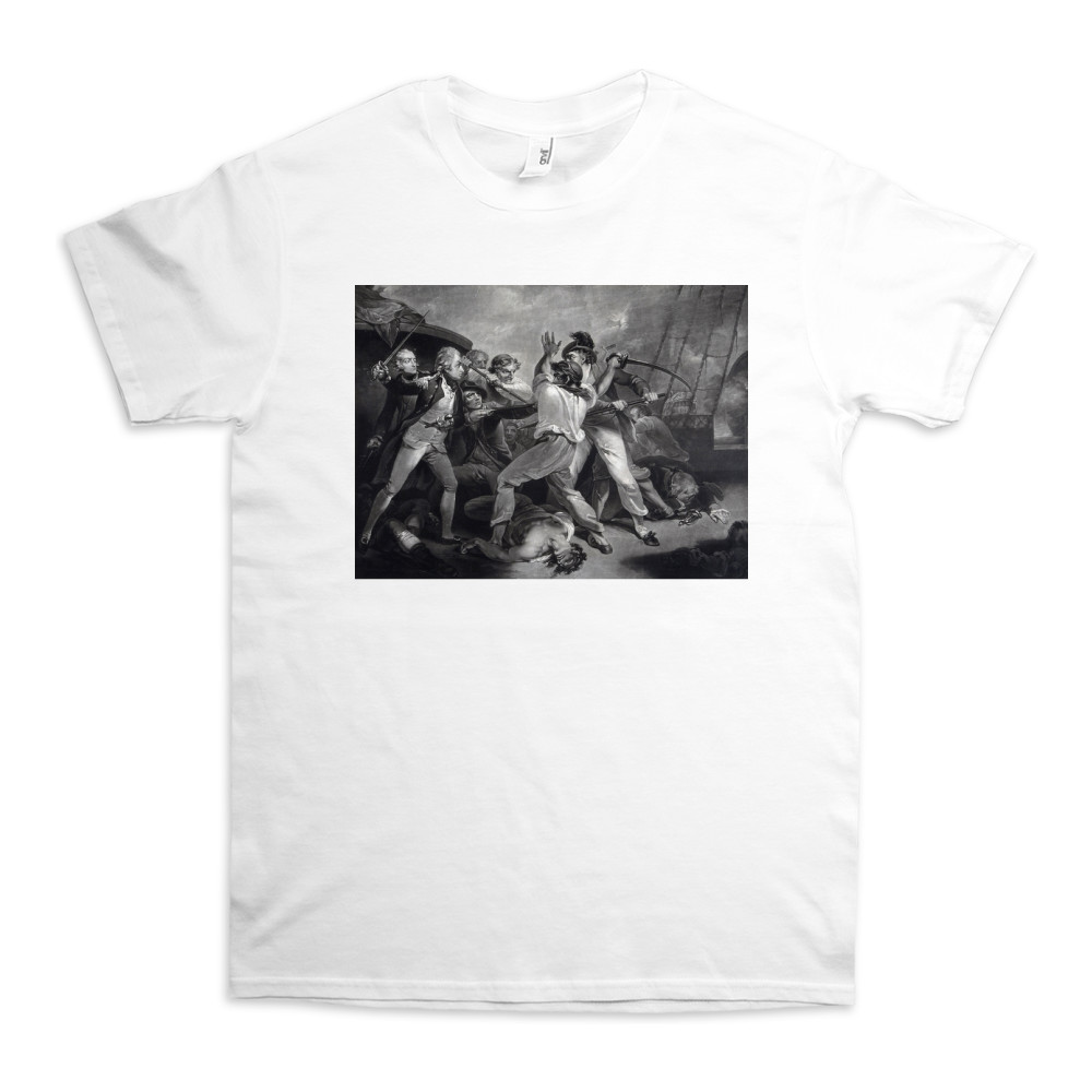 The Distinguished Action of the Gallant Nelson TShirt