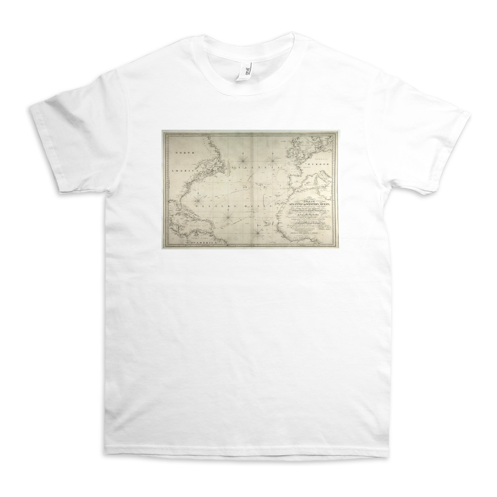 A Chart of the Atlantic or Western Ocean TShirt